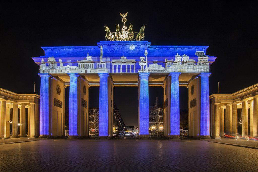Lichterfest 2018 in Berlin - Foto Martina Scholl
